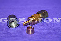 Соединитель D8/D8 для трубки ПВХ