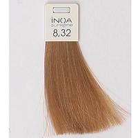 Антивозрастное окрашивание 60ml LOreal Professionnel INOA Supreme 8.32.светлый блондин золотисто-перламутровый