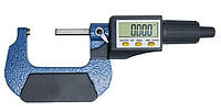 """Микрометр цифровой Shahe 25-50 мм / 0-1""""0.001 (5203-50) в водозащищенном металлическом корпусе"""
