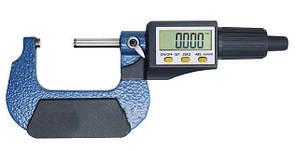 """Микрометр цифровой Shahe 50-75 мм / 0-1""""0.001 (5203-75) в водозащищенном металлическом корпусе"""