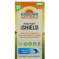 Sundown Naturals, Vision Guard iShield, 60 мягких таблеток