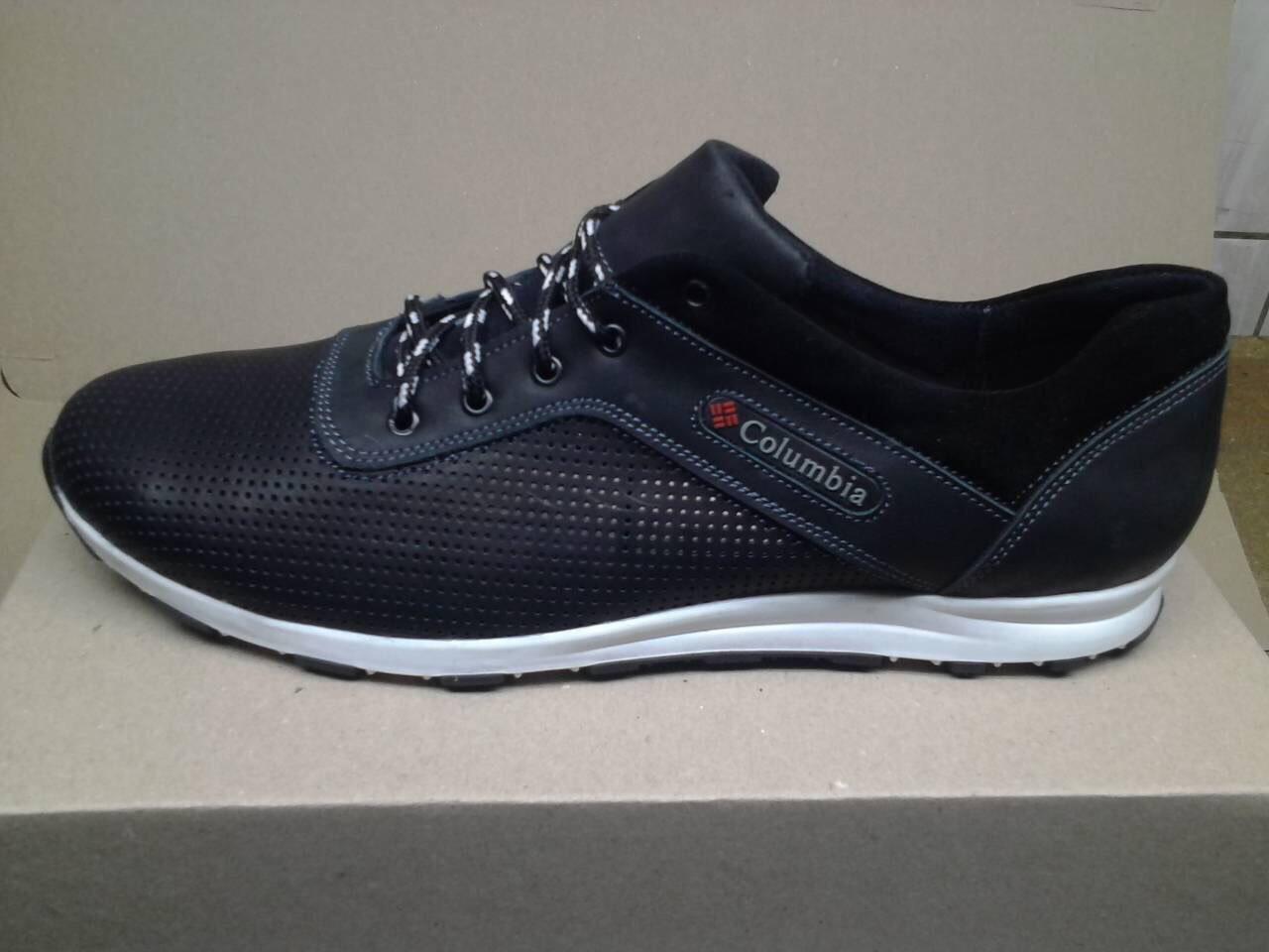 Мужские кожаные стильные кроссовки Columbia больших размеров 45. 46 ... 93844955f56ee