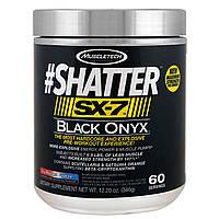 Muscletech, #Shatter, SX-7, черный оникс, перед тренировкой, Icy Rocket Freeze, 12,20 унц. (346 г)