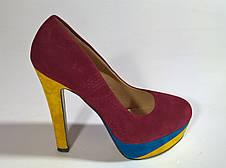 Туфли женские 38.5 размер  бренд Shoes&ACCESSORIES (France), фото 3