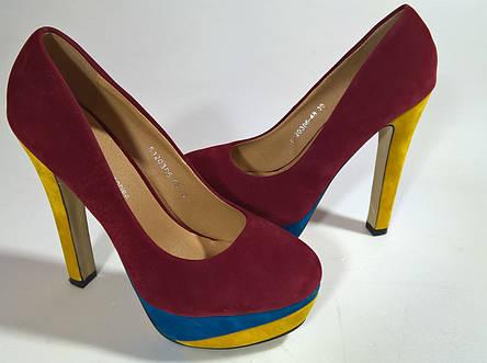 Туфли женские 38.5 размер  бренд Shoes&ACCESSORIES (France), фото 2