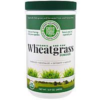 Green Foods Corporation, Органический необработанный порошок проростков пшеницы, 16.9 унций (480 г)