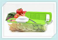 Многофункциональная терка, овощерезка, измельчитель Multifunctional Manual Vegetable, фото 1
