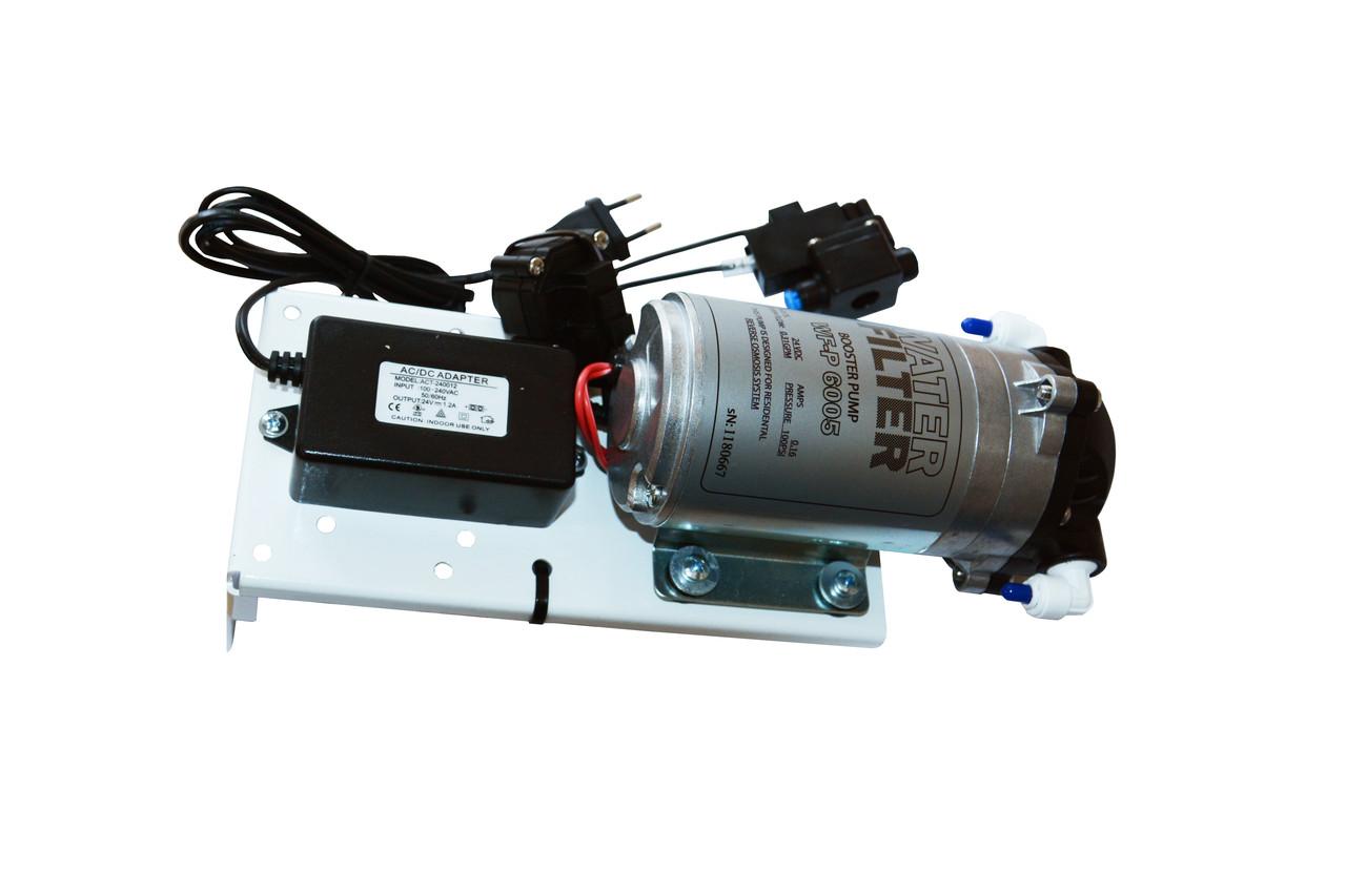 Комплект помпы для осмоса KWF-P6005