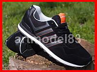 Кроссовки мужские ADIDAS black orange 41-45