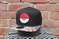 Snapback Pokemon Go Кепка Бейсболка, фото 1