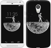 "Чехол на Motorola Moto G2 Moon in dark ""4176c-330-328"""