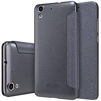 Чехол книжка Nillkin Sparkle Series для Huawei Y6 II / Y6-2 / Y6 2 черный