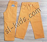 Яркие штаны для мальчика 3-7 лет(желтые) опт пр.Турция