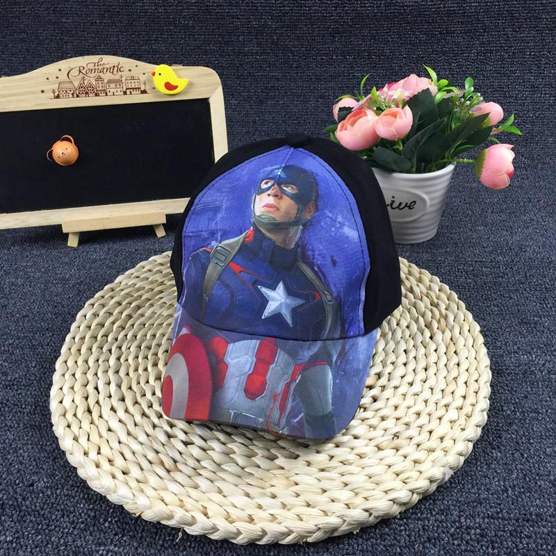 Детская бейсболка,кепка, Капитан Америка