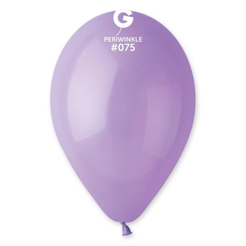 """Воздушные шары пастель нежно фиолетовый 10"""" (25 см)"""