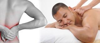 массаж снимает боль