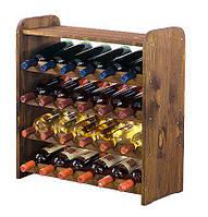 Винная полка деревянная RW-3-24P для 24 бутылок