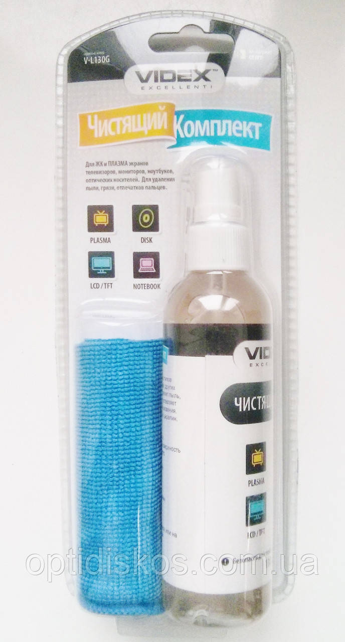 Чистящий набор Videx V-L130G (салф.,гель)Нет в наличии
