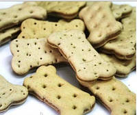 Лакомство Bosch Sandwich Bones (Бош Сэндвич косточки) печенье с птицей для собак 10 кг