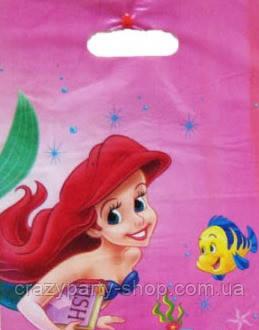 Пакетик подарочный  Ариэль Русалочка Disney