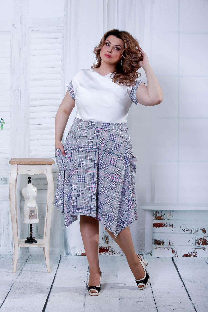 Платье с клеткой Разные цвета Индивидуальный пошив