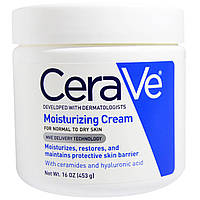 CeraVe, Увлажняющий крем, 16 унций (453 г)