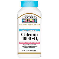 21st Century, Кальций 1000 + D3, 90 таблеток