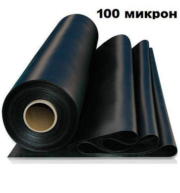 Пленка полиэтиленовая строительная 100 микрон