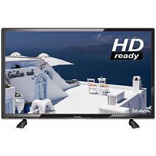 LED телевизор Bravis LED-22F1000 + T2 black