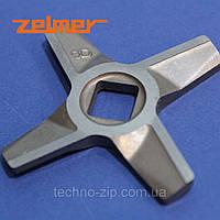 Нож двухсторонний  для мясорубки Zelmer №8  86.3109
