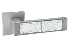 Дверна ручка ORO&ORO 203-13E White Glass