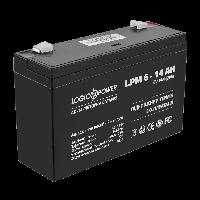 Аккумулятор LogicPower 6V, 14 Ah (14000 mAh), AGM