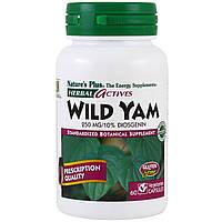 Nature's Plus, Herbal Actives, Wild Yam, 250 mg, 60 Veggie Caps