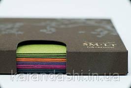 Набор открыток МИКС 5 цветок HAIKU в коробке 14,7*10,6см, 630г/м2, 11л., Smiltainis