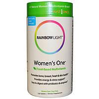 Rainbow Light, Just Once, #1 для женщин, мультивитамин на пищевой основе, 150 таблеток