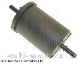Топливный фильтр на Рено Логан, Логан MCV, Сандеро Stepway 1.4i 8V 1.6i 8V// Blue Print  ADN12324