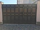 Ворота филенчатые  (из резанной филенки), фото 2