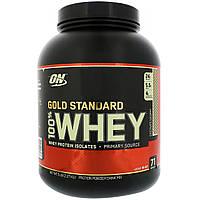 Optimum Nutrition, Золотой стандарт, 100% сыворотка, шоколад кокос , 5 фунтов (2.27кг)