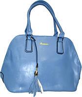 Женская синяя сумка 27*39*13 см