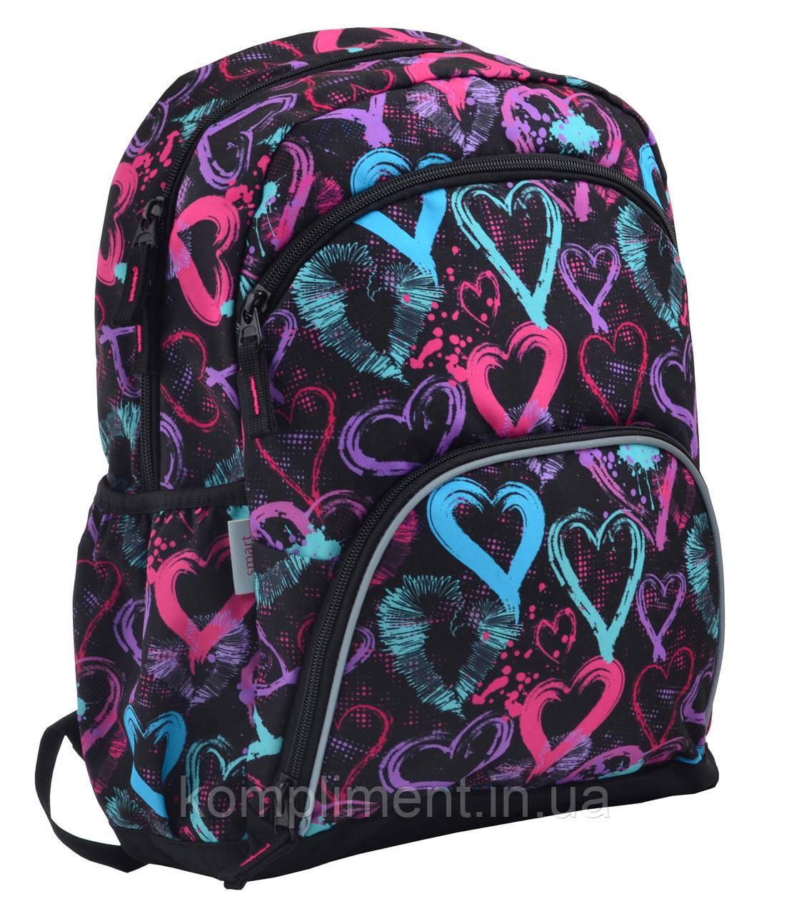 Рюкзак шкільний для дівчинки SG-21 Warmth, 40*30*13, SMART
