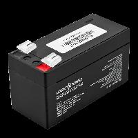 Аккумулятор кислотный LogicPower 12V, 1.3 Ah (1300 mAh), AGM