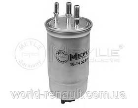 Топливный фильтр на Renault Logan, Logan MCV 1.5dci K9K/ Meyle 16-14 323 0019