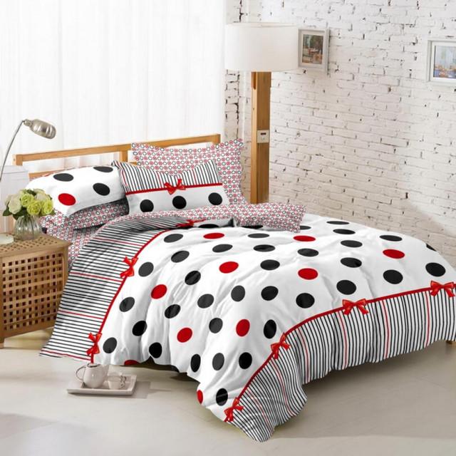 Семейное постельное белье из сатина
