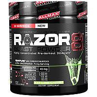 ALLMAX Nutrition, Razor 8, Pre-Workout Energy Drink with Yohimbine, Key Lime Cherry, 10.01 oz (285 g)