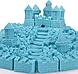 Кинетический песок Синий 1кг, фото 4