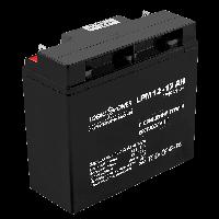 Аккумулятор кислотный LogicPower 12V, 17 Ah (17000 mAh), AGM