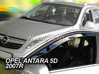 Дефлекторы окон (ветровики)  OPEL ANTARA 2007 →(HEKO)