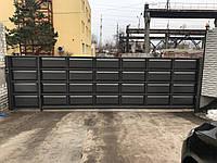 Ворота филенчатые для промышленных предприятий