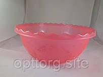 Таз для фруктов 6 л Розовый, Ал-Пластик, Арт.: 380