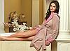 Роскошный велюровый халат – выглядеть стильно каждый день